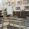 Table GALLICIAN / Plateau Chêne plaqué / Dimensions 180 *80 * 76