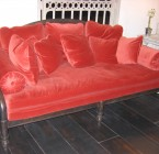 Sofa CHANDERNAGOR VELOURS- 200x85x90cm