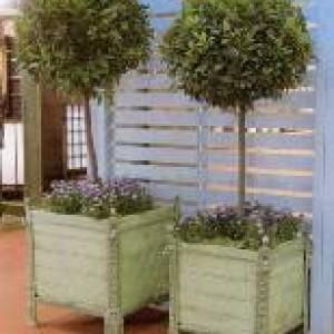 bac oranger 60 x 60 fonte et bois massif provence et fils. Black Bedroom Furniture Sets. Home Design Ideas