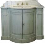 Elément BAS SEUL PAULINE ( Sans Trumeau) / Vasque céramique incluse / Livré Sans Robinetterie