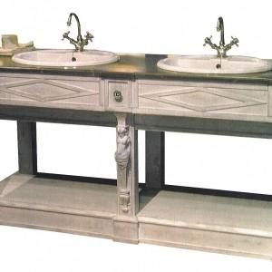 El ment bas seul de salle de bains thermes vasques for Element bas salle de bain