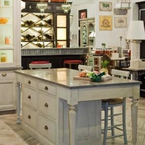 ilot central cuisine herboriste dessus marbre dimensions 160 120 90 provence et fils. Black Bedroom Furniture Sets. Home Design Ideas