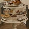 Desserte CIRCULAIRE CHAMPAGNE- 3 Plateaux – Diamètre Plateau Bas 155 cm