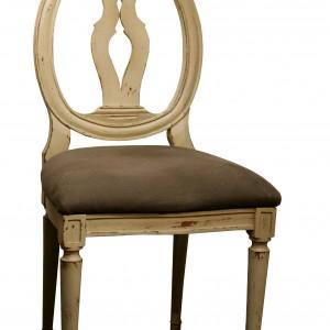 Chaise COTTON Palmette – Assise rembourée