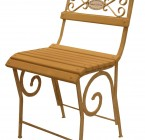 Chaise CLOSERIE- Assise Lattes de bois
