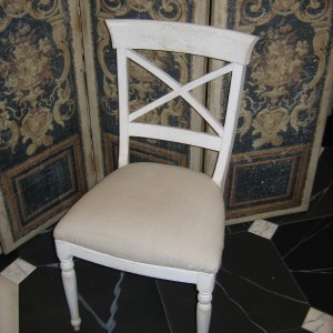Chaise CHARLES X – Assise rembourée
