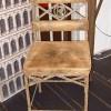 <!--:fr-->Chaise EIFFEL GLORIETTE - Struct Métal patiné façon Rouille - Assise et dossier Faux cuir ancien<!--:--><!--:en-->Chaise EIFFEL GLORIETTE - Struct Métal patiné façon Rouille - Assise et dossier Faux cuir ancien<!--:-->
