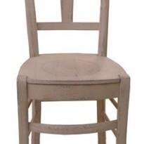 Chaise FONDA – Assise Bois – Haute. Assise 60cm pour Table de H 90cm