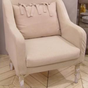 Fauteuil BOUDOIR – Dehoussable – vendu 'en Blanc' -