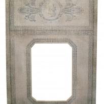 Trumeau GREC toile de lin – motif frise grèque 70x100cm