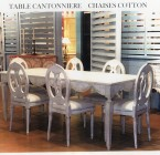 Table CANTONNIERE