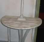Table d'appoint GUSTAVIA / Ronde avec 2 abattants
