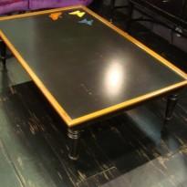 Table Basse MUSSET- Motifs PAPILLONS
