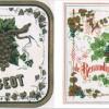 Tableau Vignette de Vin RAISINS DE VINS ET DE CHAMPAGNE