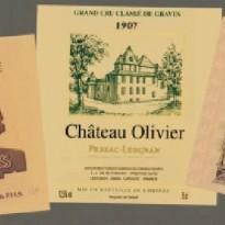 Tableau Vignette de Vin BALLADE EN CHATEAUX