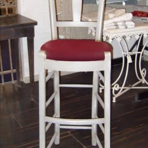 Chaise CANTINA – Haute – Assise rembourrée (pour Table ou Bar de Hauteur 110 à  120)