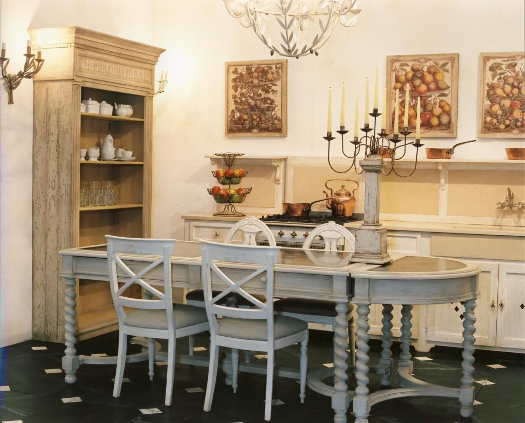 table ursuline 2 plateaux de zinc largeur 100 h 80 provence et fils. Black Bedroom Furniture Sets. Home Design Ideas