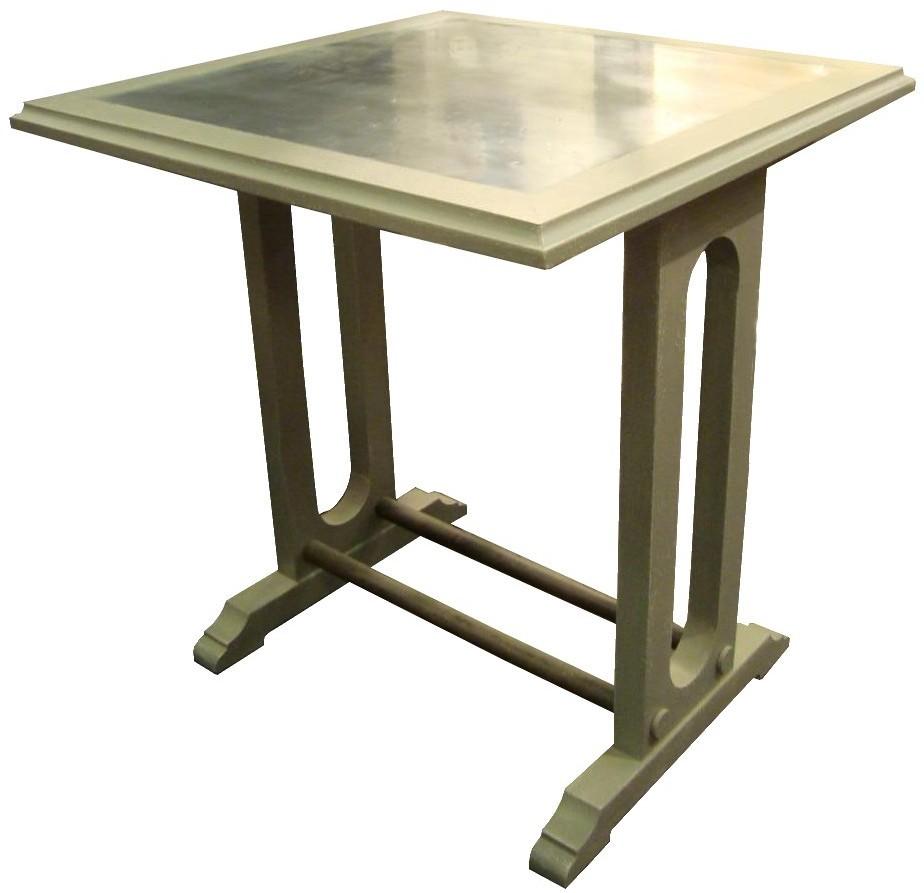 Beautiful Table Anisette U Plateau Zinc Bord De Bois U