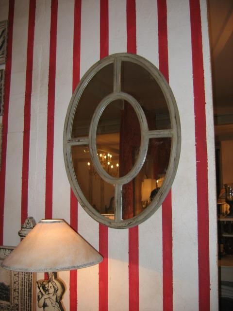Miroir Oeil De Boeuf XCm  Provence Et Fils