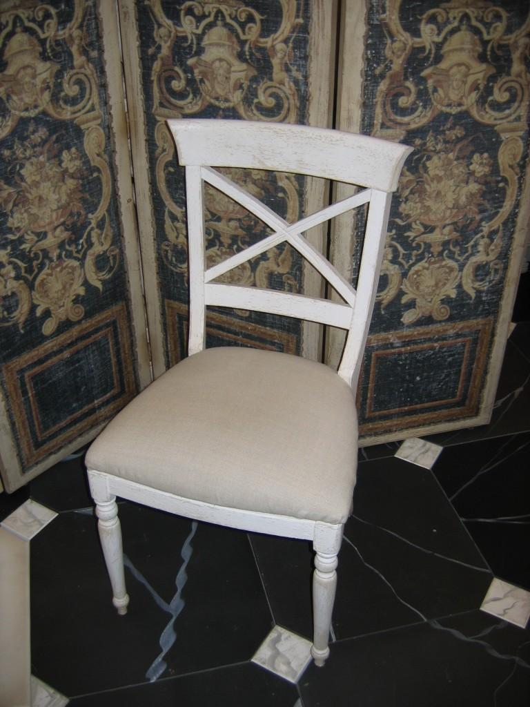 recouvrir des chaises en tissu. Black Bedroom Furniture Sets. Home Design Ideas