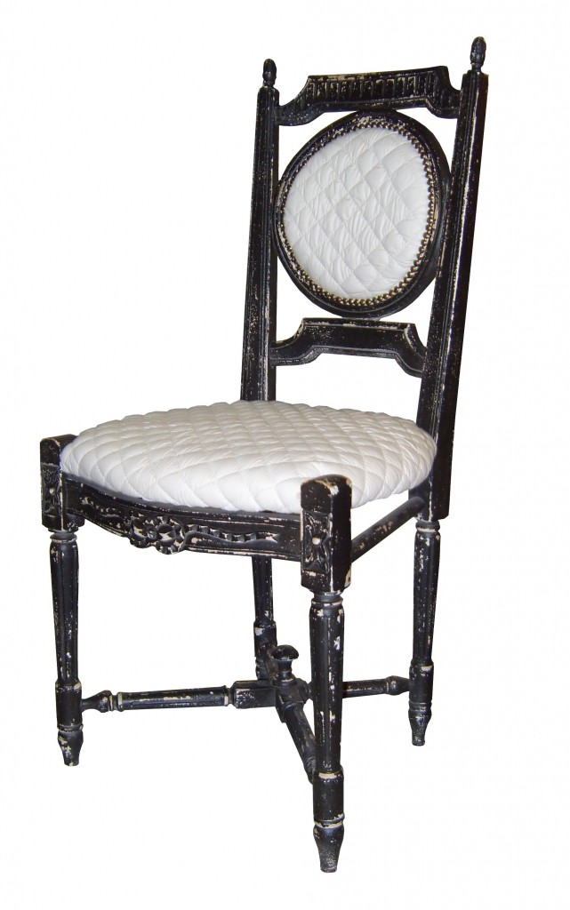 chaise louis xvi m daillon assises et dossier rembour s provence et fils. Black Bedroom Furniture Sets. Home Design Ideas