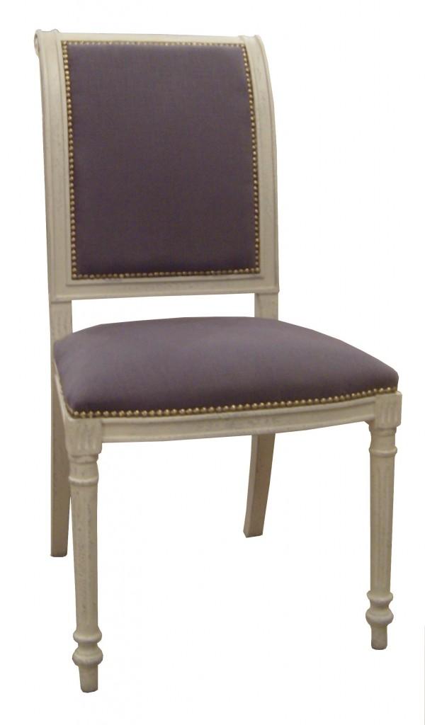 chaise dauphine assise et dossier rembour s provence et fils. Black Bedroom Furniture Sets. Home Design Ideas