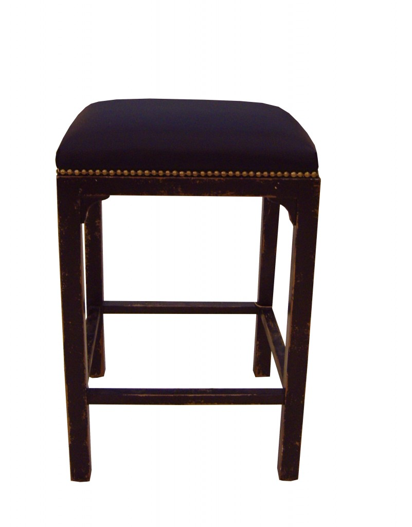 tabouret aubaine pieds bois patin h assise 60cm pour table de h 90cm provence et fils. Black Bedroom Furniture Sets. Home Design Ideas