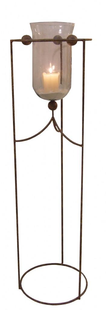 photophore haut sur pied pied m tal provence et fils. Black Bedroom Furniture Sets. Home Design Ideas