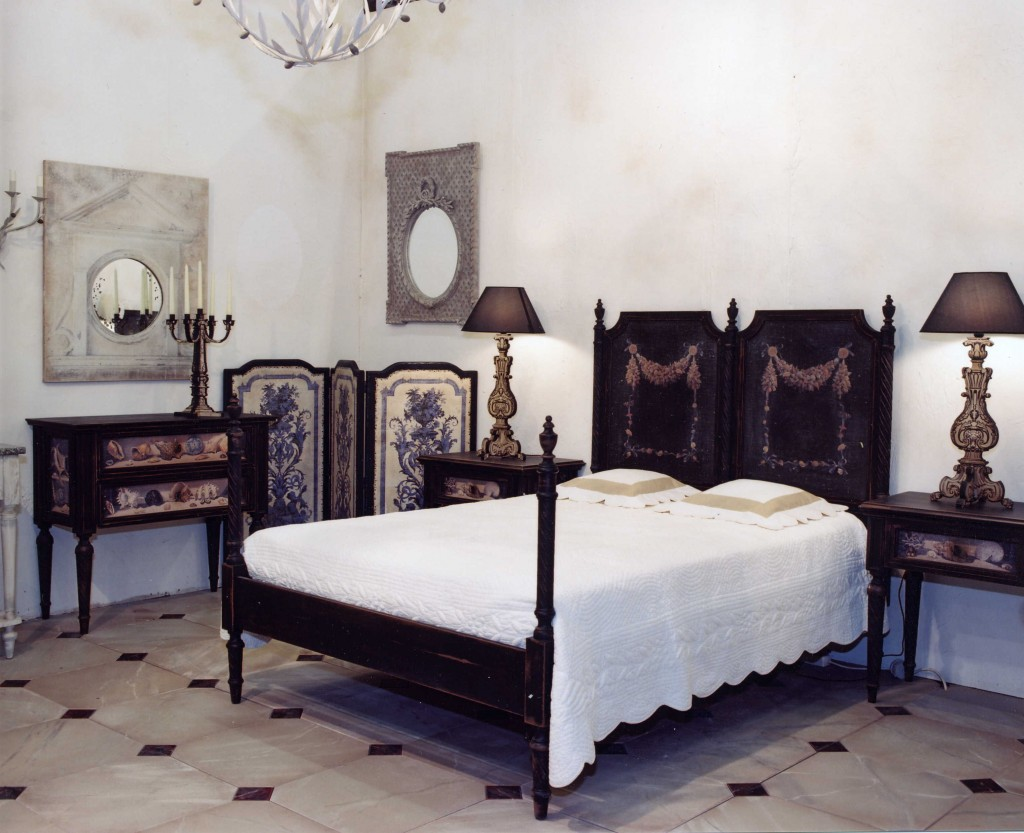 lit coquillages couchage 180 d cor coquillages. Black Bedroom Furniture Sets. Home Design Ideas