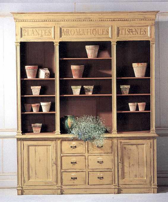 deux corps herboriste hauteur 240 version biblioth que. Black Bedroom Furniture Sets. Home Design Ideas