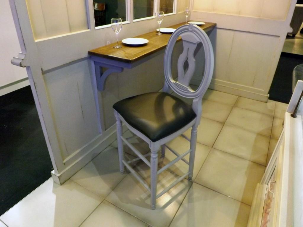 chaise haute cotton plan 90 palmette assise recouverte de tissu provence et fils. Black Bedroom Furniture Sets. Home Design Ideas